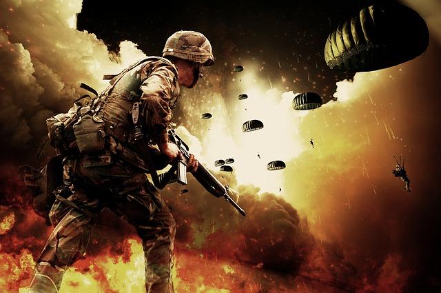 voják výsadkář