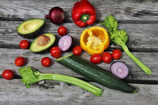 krájená zelenina