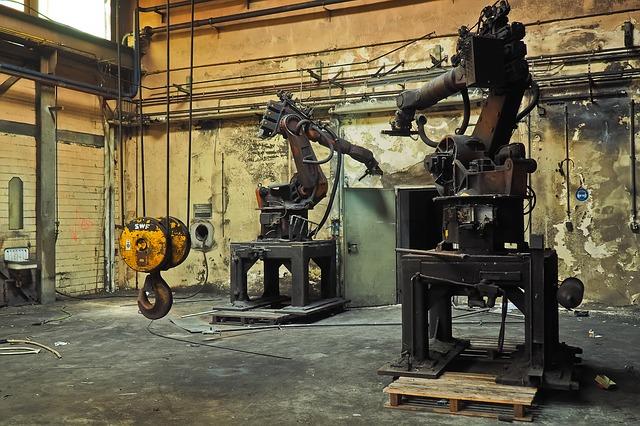 Staré průmyslové roboty